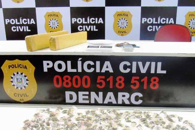 polgrav - Polícia apreende drogas e dinheiro no bairro Cruzeiro, em Gravataí
