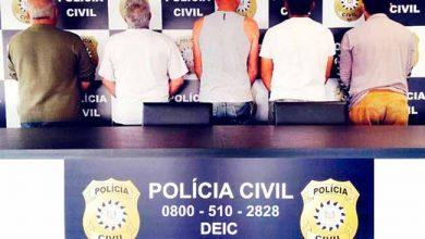 polviam8 390x220 - Cinco homens são preso em flagrante em Viamão
