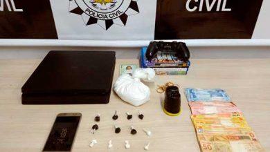 tráfico de drogas em Bento Gonçalves 390x220 - Mulher é presa por tráfico de drogas em Bento Gonçalves