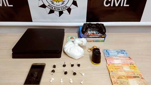 tráfico de drogas em Bento Gonçalves - Mulher é presa por tráfico de drogas em Bento Gonçalves