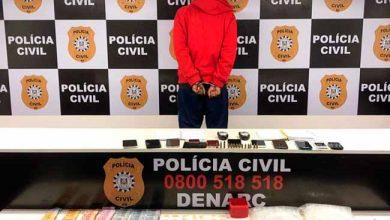 tráficoPorto Alegre 390x220 - Homem é preso em flagrante por tráfico de drogas em Porto Alegre