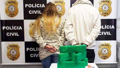 trafguai 390x220 - Casal preso em Guaíba por tráfico de drogas
