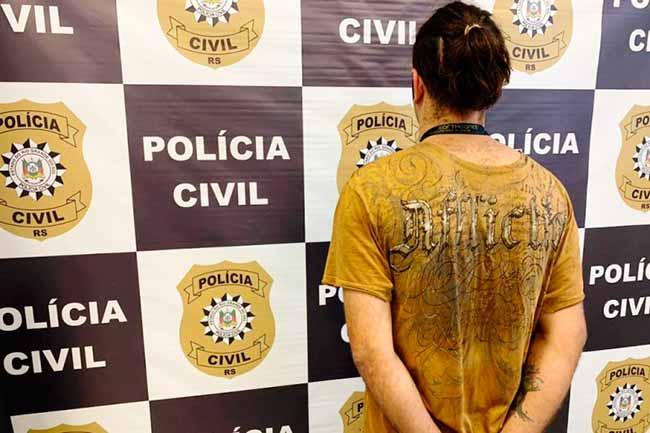 trafrs - Homem é preso em Viamão por tráfico de drogas
