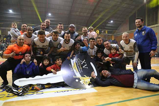 unidos campina - Unidos da Campina deu show na 15ª Copa dos Campeões
