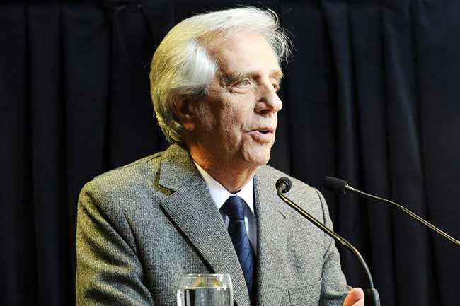 uruguay vazquez - Presidente do Uruguai está com câncer no pulmão