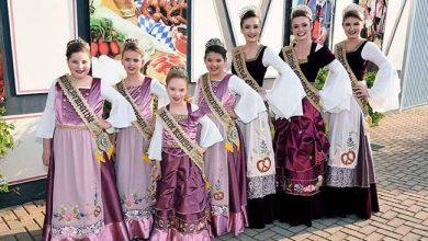 vestidos soberanas marata 390x220 - Soberanas da 15ª Oktoberfest de Maratá apresentam seus vestidos