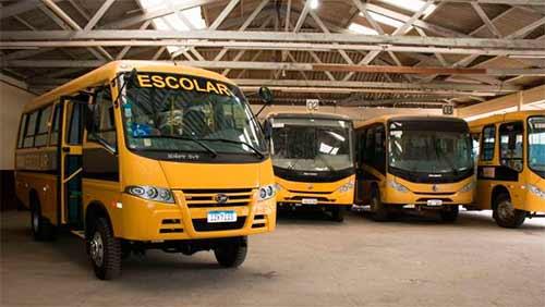 nibus escolares de Pelotas RS 3 - Pelotas adquire novo ônibus para transporte escolar da zona rural