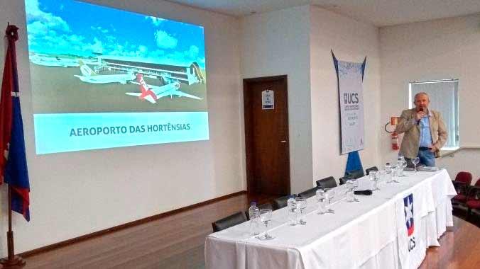 Aeroporto das Hortências Canela RS - Canela: Aeroporto das Hortênsias pode sair do papel em 2020