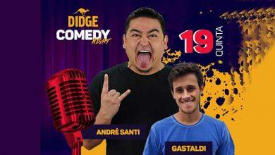 André Santi 390x220 - Comediante André Santi se apresenta no Didge BC na quinta em Balneário Camboriú