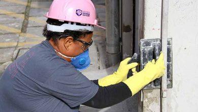 AtividadePraticaCimentoBatom 001 390x220 - Oficina de construção civil para mulheres dia 27 em Esteio