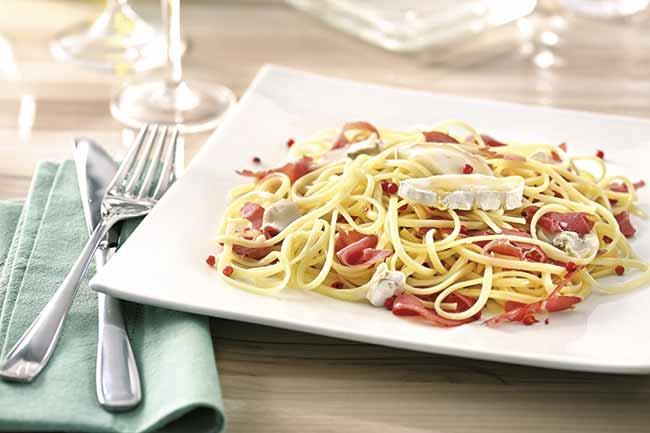 Bavette Adria Grano Duro com Pastrami - Bavette grano duro com pastrami