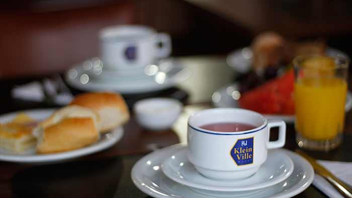 Café da Manhã no Hotel Klein Ville Gramado RS Foto Cleber Martin revistanews.com .br  - Empresários do setor hoteleiro estão otimistas, aponta pesquisa do MTur