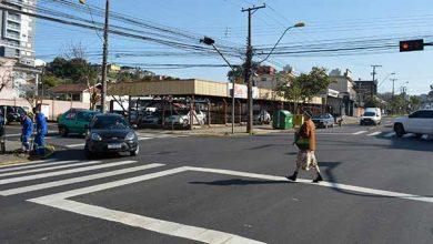 Photo of Avenida São Leopoldo com a rua Sapucaia terá tempo exclusivo para travessia de pedestres