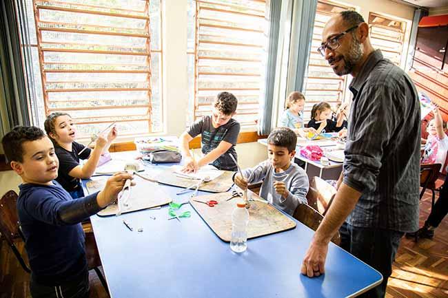 Centro Educacional Popular - Escola de São Leopoldo vai se tornar um Centro Educacional Popular