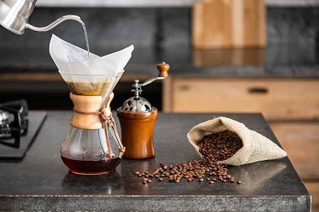 Chemex - Tok&Stok lança linha para amantes do café