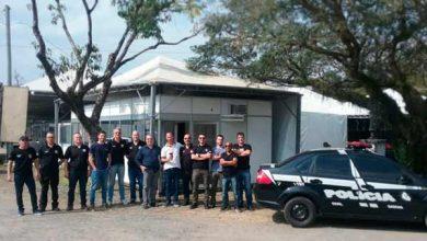 Photo of Delegacia de Polícia é instalada no Acampamento Farroupilha em Porto Alegre