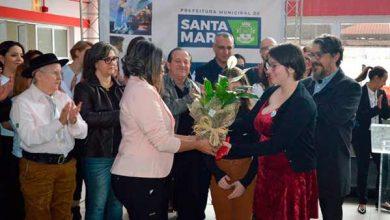 EMEI inaugurada em Santa Maria 3 390x220 - Santa Maria inaugura escola infantil para receber 150 crianças