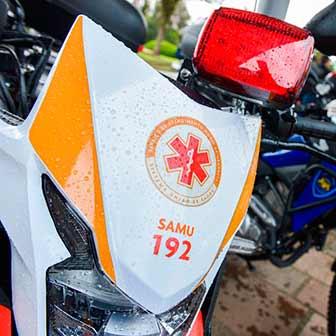 Entrega de motos PMCS 5 - Daniel Guerra entrega novas motocicletas a saúde, segurança e trânsito de Caxias do Sul