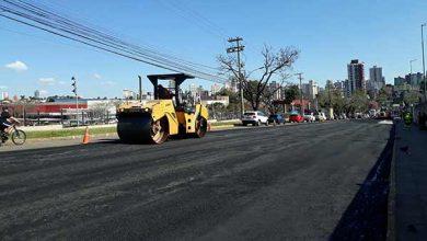 Passo Fundo pavimentação obras 390x220 - Trabalho intenso na avenida Brasil em Passo Fundo