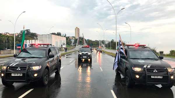 Polícia Civil no Desfile de 7 de Setembro - Polícia Civil participa do Desfile de 7 de Setembro em Porto Alegre