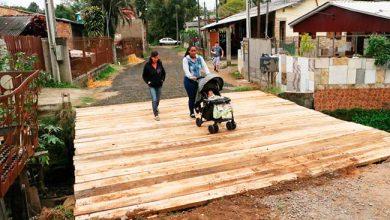 Ponte 3 de agosto6 390x220 - Ponte da Rua 3 de Agosto foi reformada em Gravataí