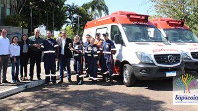 Photo of Sapucaia ganha duas ambulâncias para a SAMU