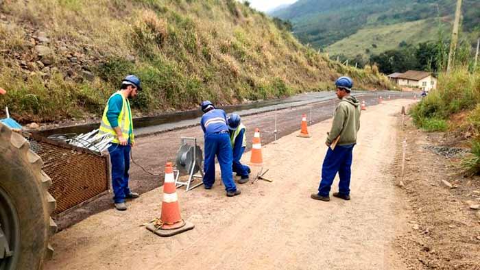 Serra da Rocinha Aparados da Serra - DNIT inicia pavimentação da BR-285 nos Aparados da Serra