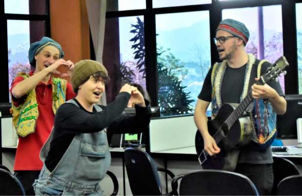 Teatro em Novo Hamburgo - Humor para mandar recado sério sobre o trabalho infantil em Novo Hamburgo