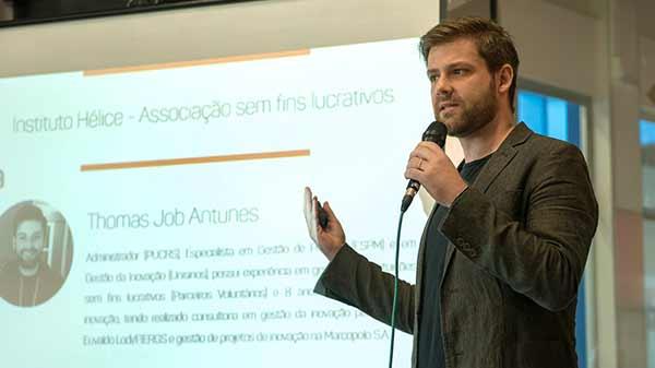 Thomas Job Antunes crédito Luís Henrique Bisol - Grupo de Investimento Hélice pré-seleciona 29 startups para etapa de aceleração
