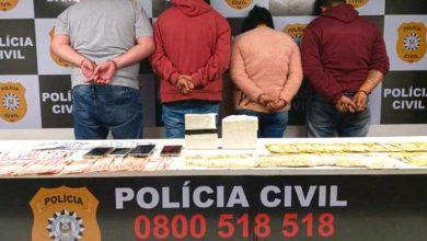 Tráfico de drogas quatro presos em Novo Hamburgo 390x220 - Tráfico de drogas: quatro presos em Novo Hamburgo