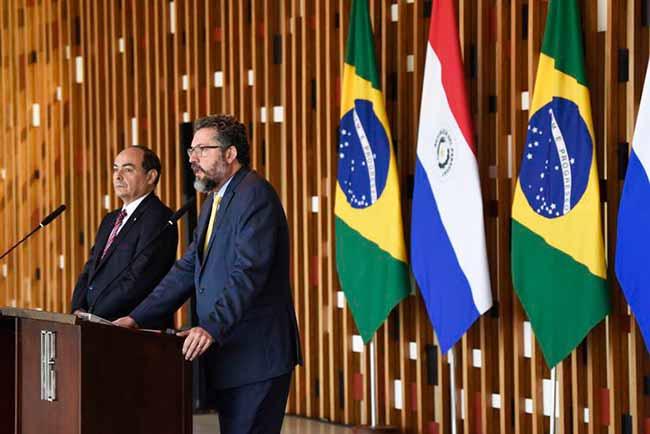 acordobrasparag - Brasil e Paraguai fazem negociação de acordo automotivo