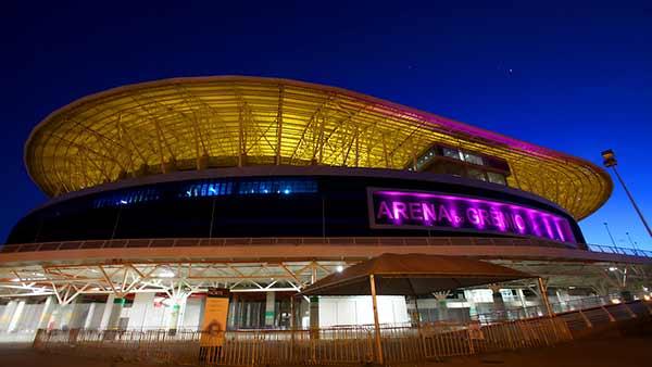 arena do grêmio - Corrida do Grêmio no mesmo dia do aniversário do Clube