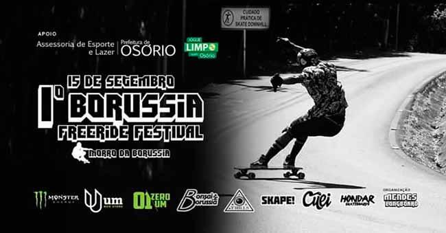 borussia festival - 1º Borússia Freeride Festival é neste domingo em Osório