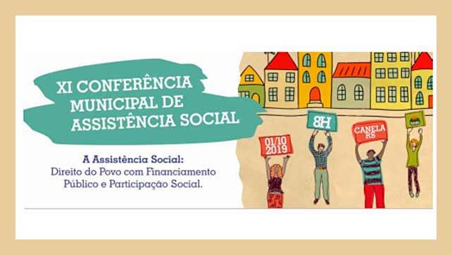 canela conferencia 2019 - Canela promove Conferência Municipal de Assistência Social