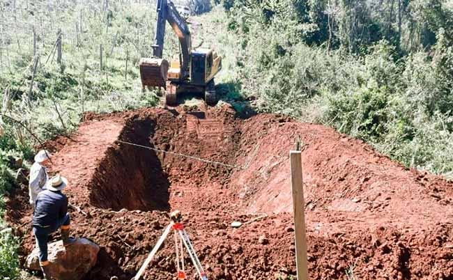 cisterna uso consciente da agua na propriedade rural 15847 - Nova cisterna é construída na área rural de Veranópolis