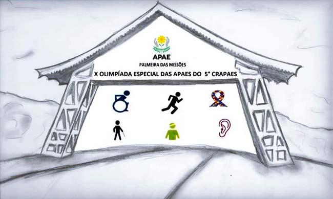 crapaes - Palmeira das Missões sediará a X Olimpíada Especial das Apaes