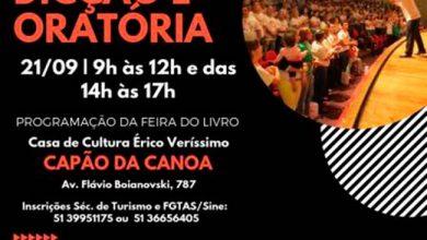 curso capao 390x220 - Capão da Canoa oferece curso gratuito de dicção e oratória