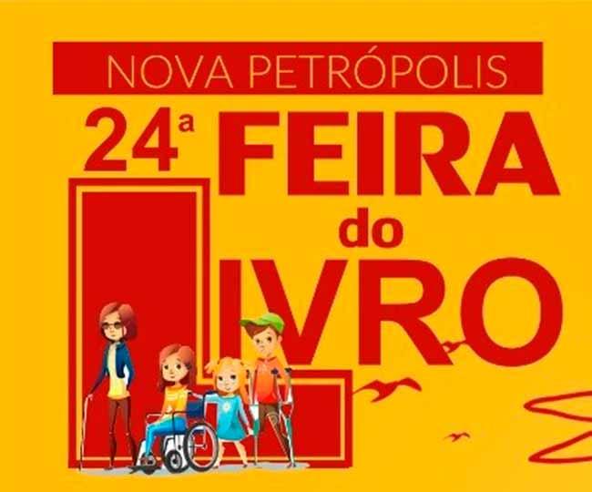 de 8 a 13 de outubro feira np - Feira do Livro de Nova Petrópolis acontece de de 8 a 13 de outubro