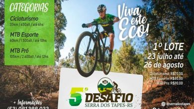 Photo of 5º Desafio Serra dos Tapes – Etapa Canguçu é neste domingo