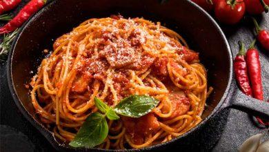 espag 390x220 - Espaguete alla matriciana