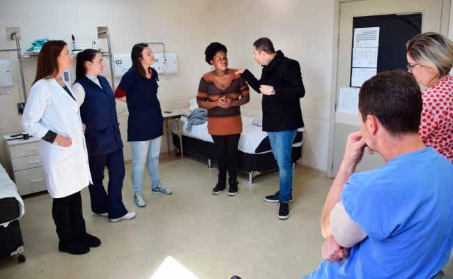 hospnh - Capacitação sobre Síndrome de Down no Hospital Municipal de Novo Hamburgo