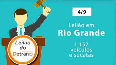 Photo of Leilão do DetranRS acontece nesta quarta em Rio Grande