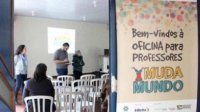 mudamundo 390x220 - Esteio realiza oficinas de capacitação do projeto MudaMundo