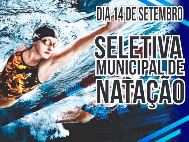 nataçaosantamaria - Seletiva Municipal de Natação é neste sábado em Santa Maria