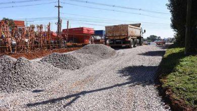 pavimentação no Parque Farroupilha 390x220 - Segue asfaltamento no Parque Farroupilha em Passo Fundo