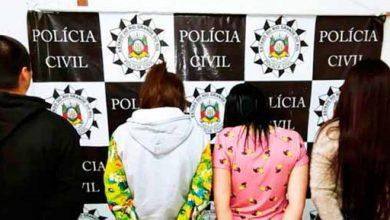 Photo of Polícia prende quatro integrantes de organização criminosa em Santa Maria