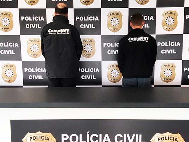 polalv - Polícia prende dois por receptação de cabos em Alvorada
