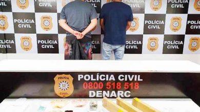 polpoatraf 390x220 - Mais de cinco quilos de maconha são apreendidos em Porto Alegre