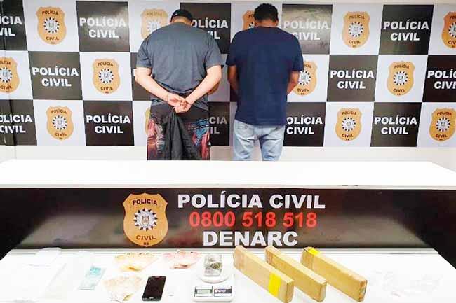 polpoatraf - Mais de cinco quilos de maconha são apreendidos em Porto Alegre