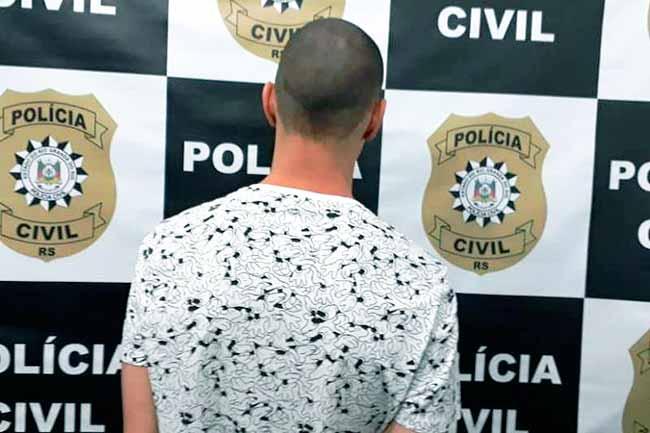 polsl - Homem é preso por sequestro e cárcere privado no bairro Vicentina, em São Leopoldo